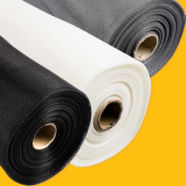 fliegennetz fliegengitter fenster 2 meter spannrahmen fiberglas insektenschutz ebay. Black Bedroom Furniture Sets. Home Design Ideas