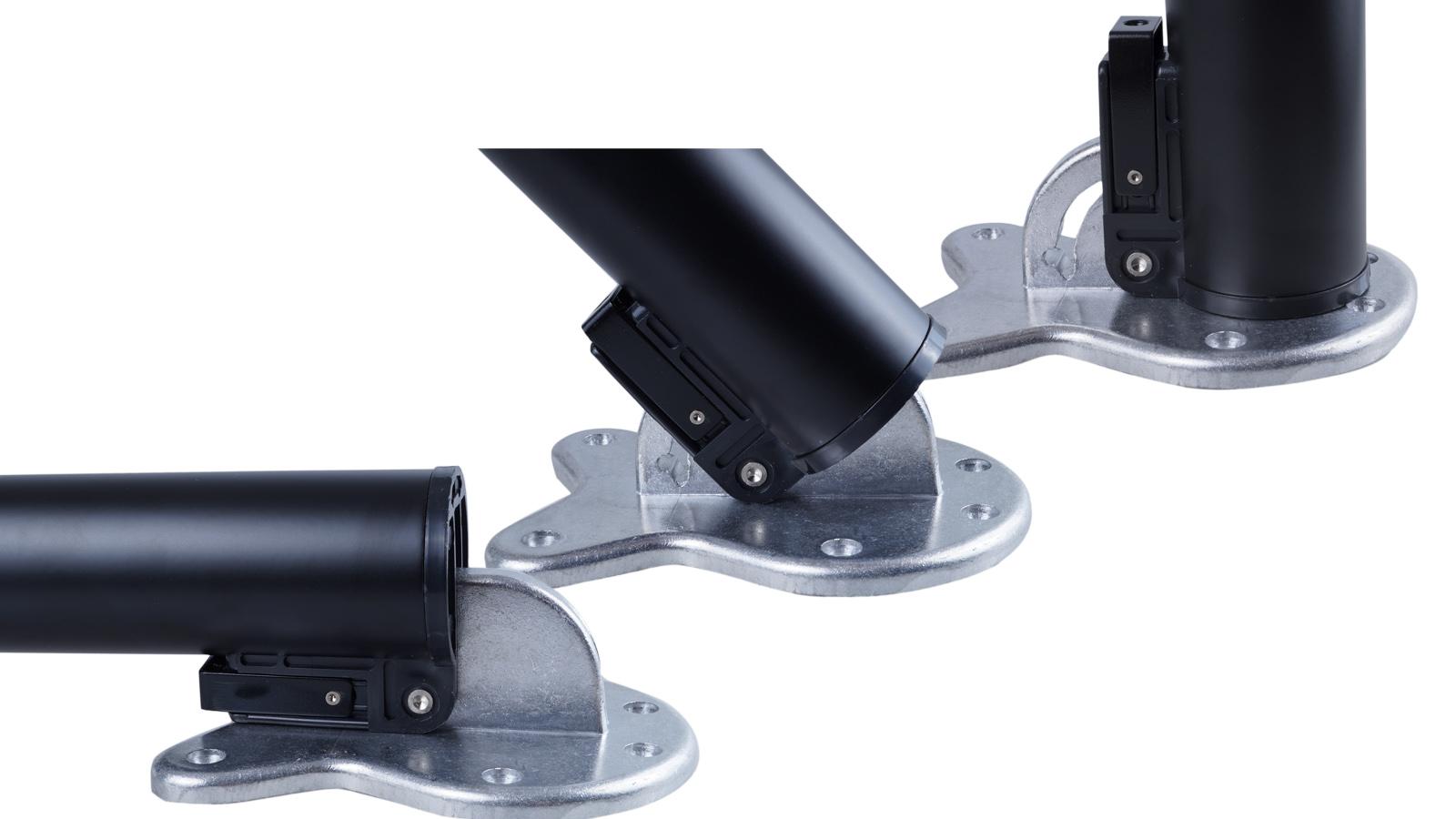 4x edelstahl tischbeine set klappbar st tzfu 50 mm tischbein tischf e verstel ebay. Black Bedroom Furniture Sets. Home Design Ideas